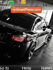 BMW 10 theme screenshot