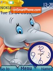 Dumbo Clock theme screenshot