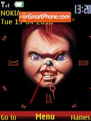 Chucky Clock es el tema de pantalla