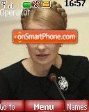 Yulia Timoshenko 1 es el tema de pantalla