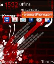 Xpress rock red theme screenshot