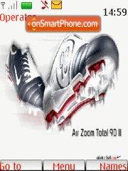 Adidas football boots theme screenshot