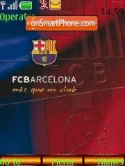 FC Barcelona 13 theme screenshot