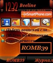 ROMB39 theme screenshot