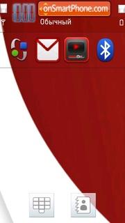 Google Abstract tema screenshot