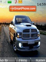 Dodge ram 01 theme screenshot
