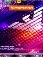 Armani 05 theme screenshot