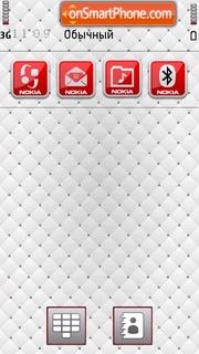 Zagato White es el tema de pantalla