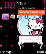 Black Kitty FP2 DIV theme screenshot