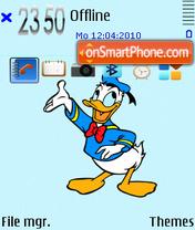 Donald duck fp1 es el tema de pantalla