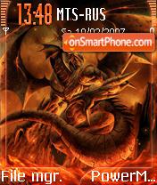 Dragon Fire es el tema de pantalla