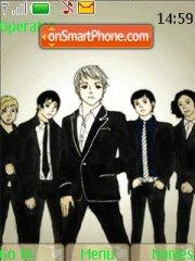 Cartoon my chemical romance es el tema de pantalla