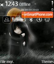 Valentines Night theme screenshot