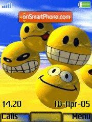 Smile 09 es el tema de pantalla