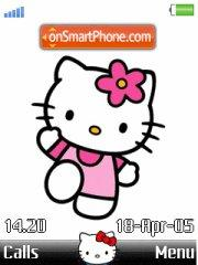 Hello Kitty 36 theme screenshot