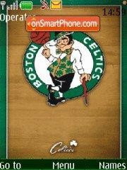 Boston Celtics 01 theme screenshot