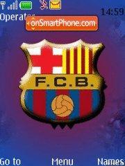 FC Barcelona 14 theme screenshot