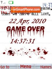 Game Over 02 theme screenshot