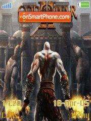 God Of War Theme es el tema de pantalla