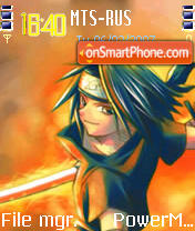 NoThiNgS Sasuke theme screenshot