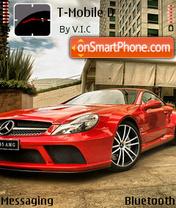 Red Mercedes 01 es el tema de pantalla