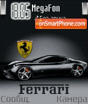 Animated Ferrari theme screenshot