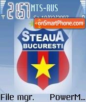 Steaua Bucuresti theme screenshot
