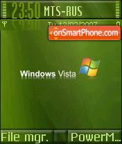 Vista Green es el tema de pantalla