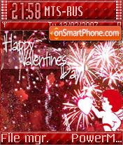 Valentine Day es el tema de pantalla