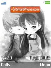 Cute Lovers 01 es el tema de pantalla