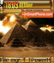 The Pyramids es el tema de pantalla