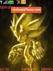 Mystic Sonic es el tema de pantalla