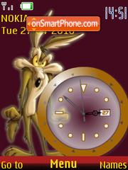 Coyote Clock theme screenshot