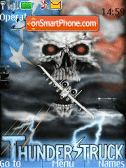 ThunderStruck theme screenshot