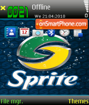 Sprite theme screenshot
