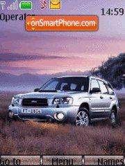 Subaru Forester 01 theme screenshot