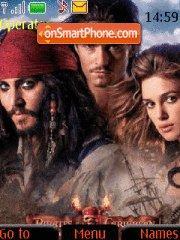 Pirates of the Caribbean 04 es el tema de pantalla