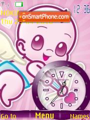 Cupid Clock theme screenshot