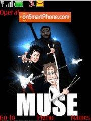 Muse theme screenshot