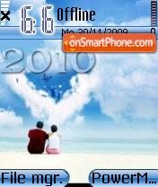 2010 theme es el tema de pantalla