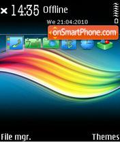 Metal rainbow es el tema de pantalla