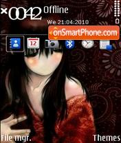 My Beautiful Lady theme screenshot
