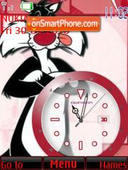 Silvester Clock theme screenshot