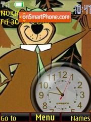 Yogi Bear Clock es el tema de pantalla