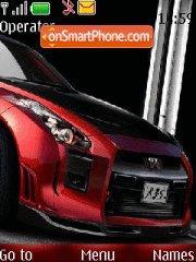 Nissan GTR 06 theme screenshot