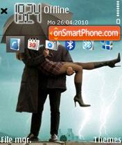 Love in the rain es el tema de pantalla