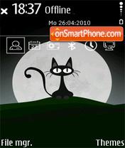 Black Cat 06 es el tema de pantalla