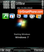 Windows Seven 06 theme screenshot