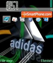 Addidas 01 es el tema de pantalla