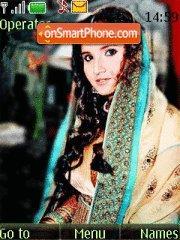 Sania at her Wedding es el tema de pantalla